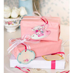 Truly Scrumptious Vintage Shabby Chic Pack of 24 Gift Tags