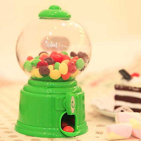 Mini Candy Gumball Vending Machine (Choice of 4 colors - Red, Yellow, Blue & Green)