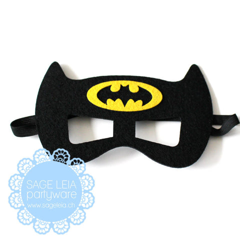 Kids/Young Adult Superhero Felt/Polyester Batman Party Mask