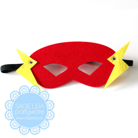 Kids/Young Adult Superhero Felt/Polyester Flash Party Mask