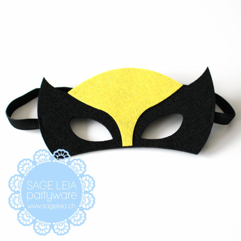 Kids/Young Adult Superhero Felt/Polyester Wolverine Party Mask