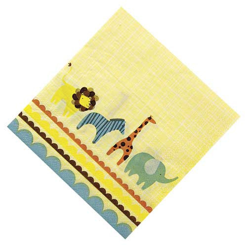 Animal Parade Pack of 20 Party Napkins