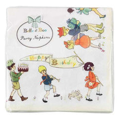 Belle & Boo Pack of 20 Party Napkins