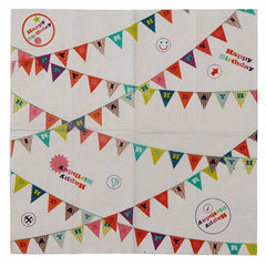 Birthday Bash Amuse Bouche Pack of 40 Party Napkins
