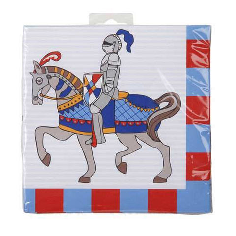 Brave Knight Pack of 20 Party Napkins
