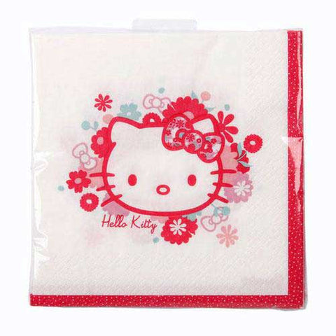 Hello Kitty Pack of 20 Party Napkins