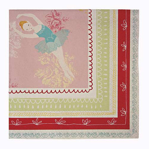 Little Ballet Dancer Pack of 20 Party Napkins