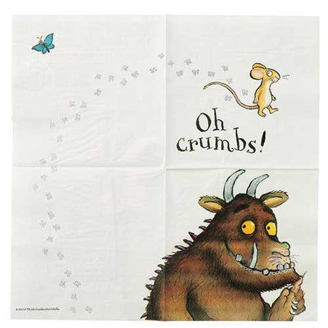 The Grufffalo Pack of 20 Party Napkins