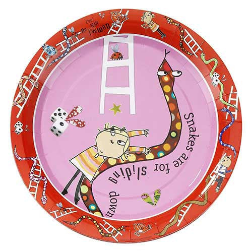Charlie and Lola Pack of 8 Party Plates (23cm)