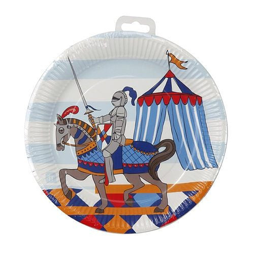 Brave Knight Pack of 8 Party Plates