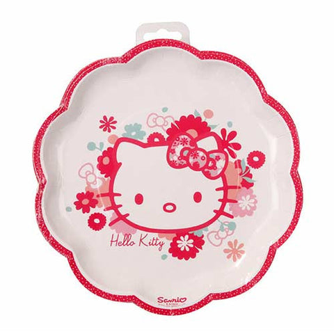 Hello Kitty Super Cute Pack of 8 Party Plates (23cm)