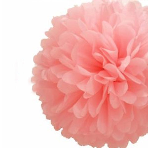 Party Decorative Tissue Pom Pom Blush Pink (25cm)