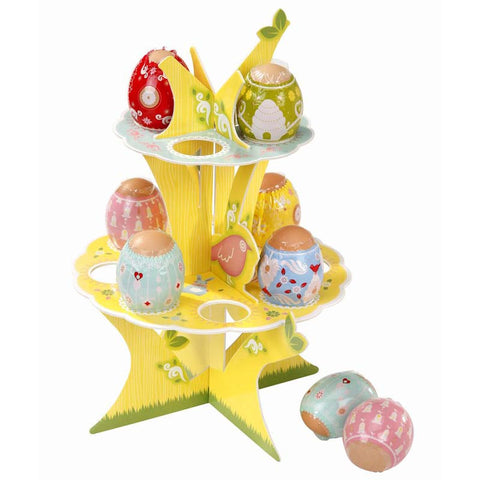 Springtime Bunny Super Cute Egg Shrinks & Decorative Tree Holder Stand