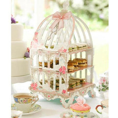 Truly Scrumptious Whimsical Birdcage Patisserie Cupcake Stand
