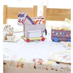 Belle & Boo Donkey Treat Cart Table Centrepiece