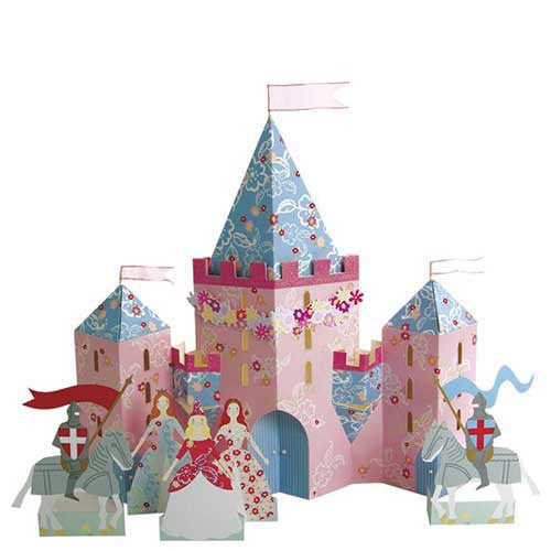 Pretty Princess Regal Castle Party Table Centrepiece