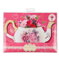Truly Scrumptious Delightful Teapot-shaped Table Centrepiece Vase