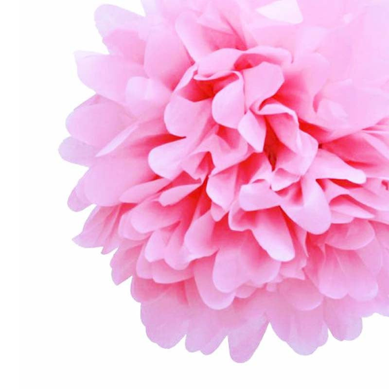 Party Decorative Tissue Pom Pom Pink (25cm)