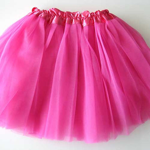 Baby Toddler Girl Magenta Hot Pink Ballerina Tutu Pettiskit