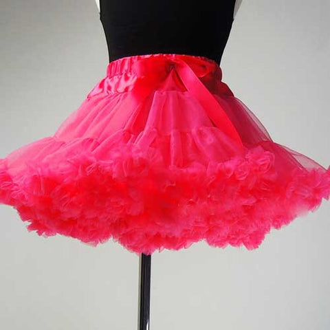 Premium Baby Toddler Girl Hot Pink Tutu Pettiskirt