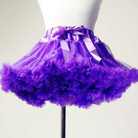 Premium Baby Toddler Girl Purple Tutu Pettiskirt