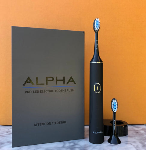 Sonic LED Electric Toothbrush Black