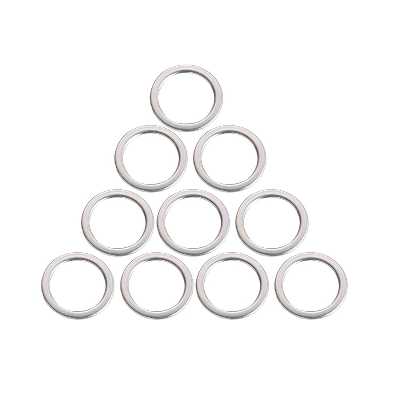 10pcs Differential Oil Drain Plug Crush Washers Gaskets