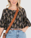 Cher Top - Retro Paisley