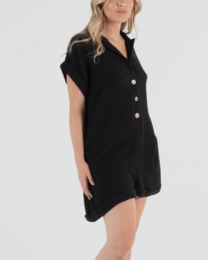 Lulu Playsuit - Black