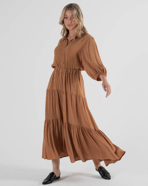 Savanna Skirt - Toffee