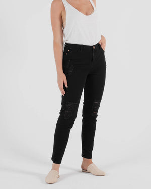 Betsey Denim Jean - Black