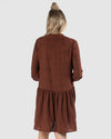 Jocey Shirt Dress - Rosewood Animal