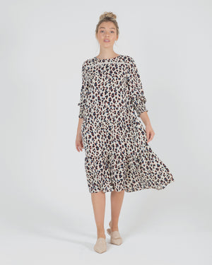 Neeve Dress - Leopard Print