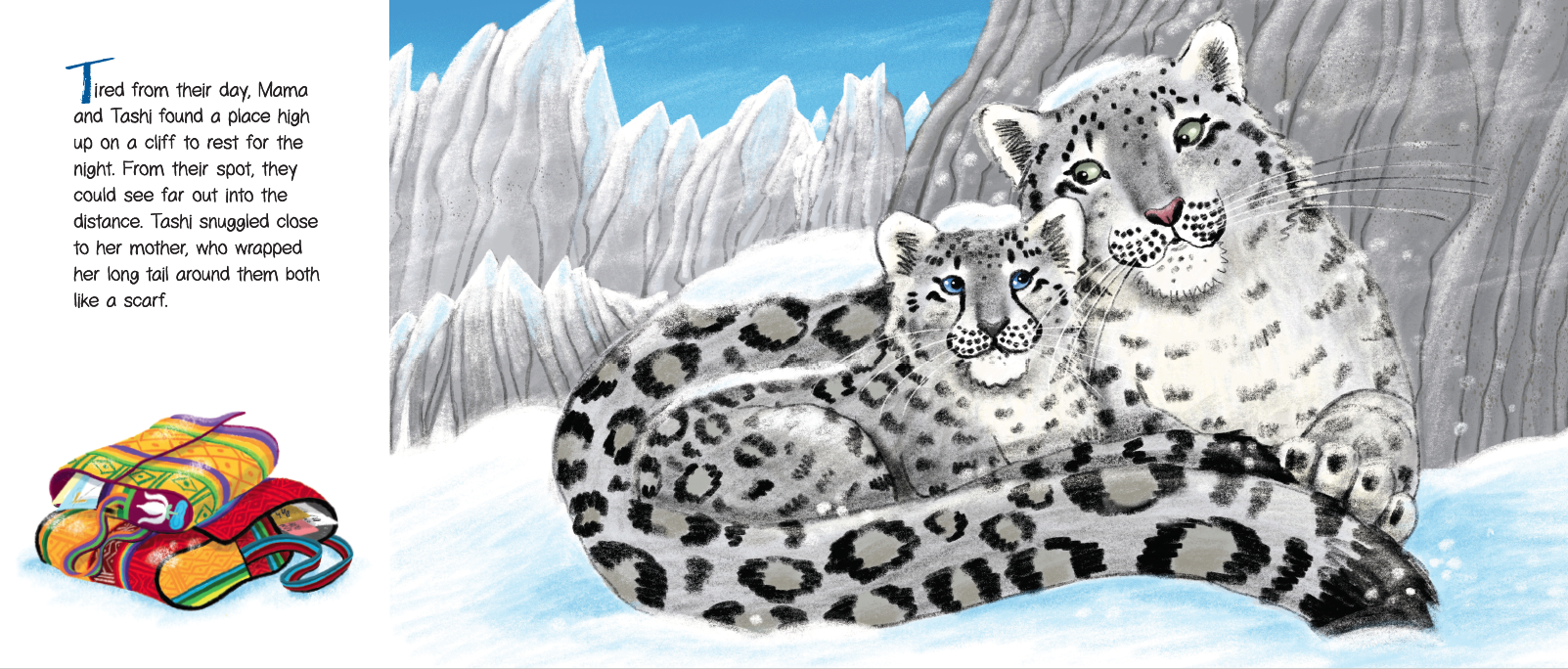 A Letter from Tashi: A Snow Leopard Tale