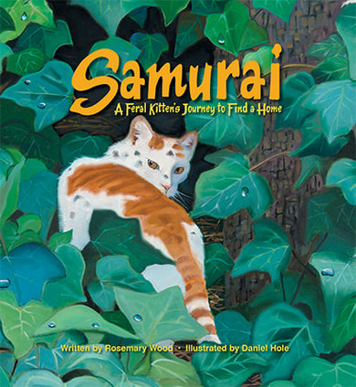 Samurai: A Feral Kitten's Journey to Find a Home
