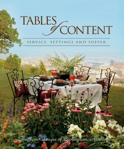 Tables of Content: Service, Settings, and Supper