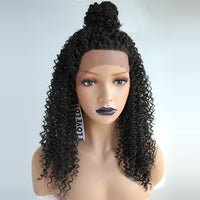Natural Black Tight Curly Lace Front Wig By Smart Wigs Melbourne VIC