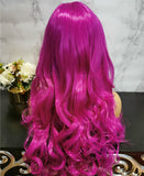 Light purple long curly costume wig by Shiny Way Wigs Brisbane QLD