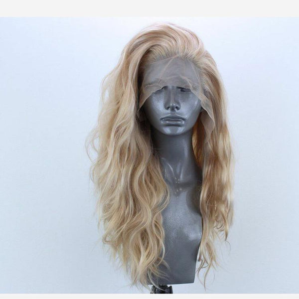 Honey Blonde Body Wave Lace Front Wig at Smart Wigs Sydney
