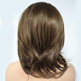 2020 New Dark Brown Shoulder Length Lace Front Wig