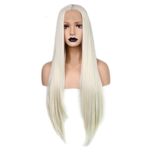 Platinum Blonde Lace Front Wig at Smart Wigs Brisbane QLD