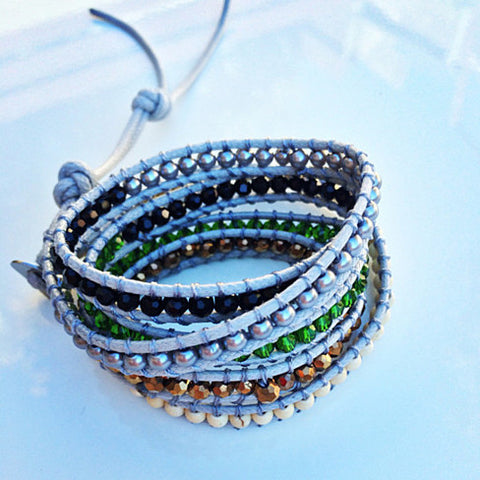 5 Wrap Bracelet - Celebrity Styled