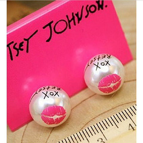 Betsey XOX earrings