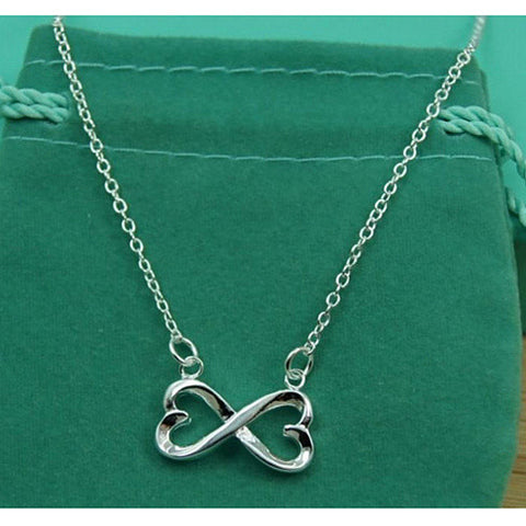 Famous Infinity Hearts Necklace
