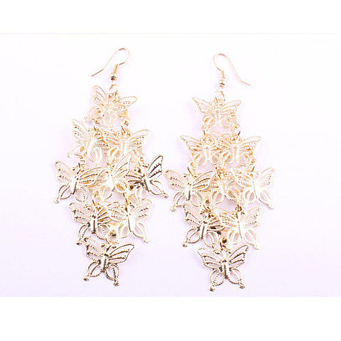 Butterfly Waterfall Earrings