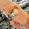 HOLLYWOOD'S FAVORITE TRENDY CHARM BANGLES