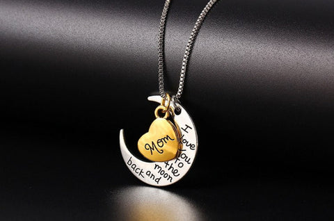 LOVE MOM/DAUGHTER/SISTER NECKLACE