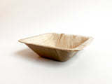 4-Inch Disposable Deep Square Palm Bowls | Malurra