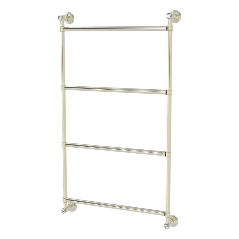 Carolina Crystal Collection 4 Tier 18 Inch Ladder Towel Bar
