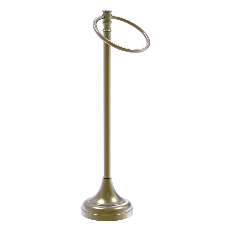 Carolina Crystal Collection Guest Towel Ring Stand